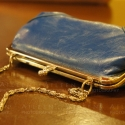 Blue & Gold Purse